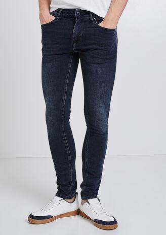 Jeans Skinny blu-nero