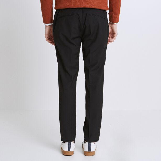 Pantalone Chino cropped nero