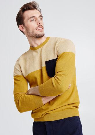 Pullover colorblock