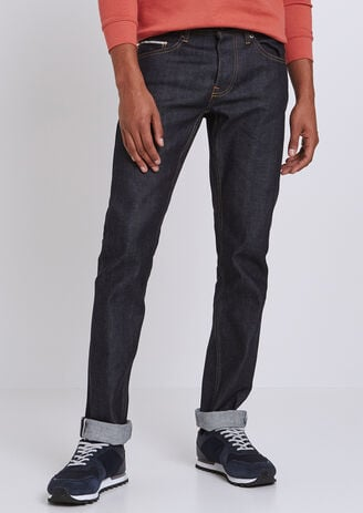 Jean Straight Selvedge Brut