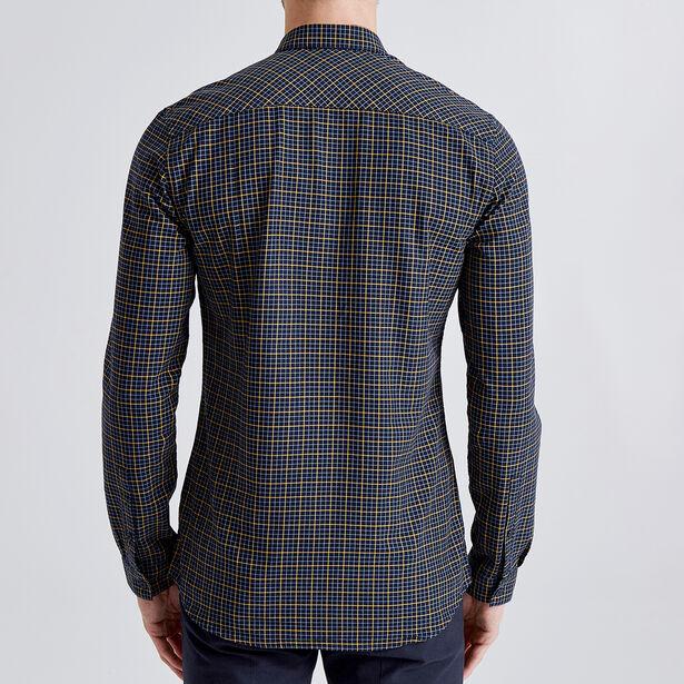 Geruit Oxfordhemd