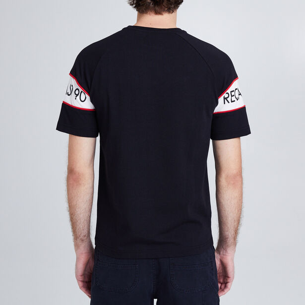 "Tee shirt col rond imprimé ""Sportwear Dept"""