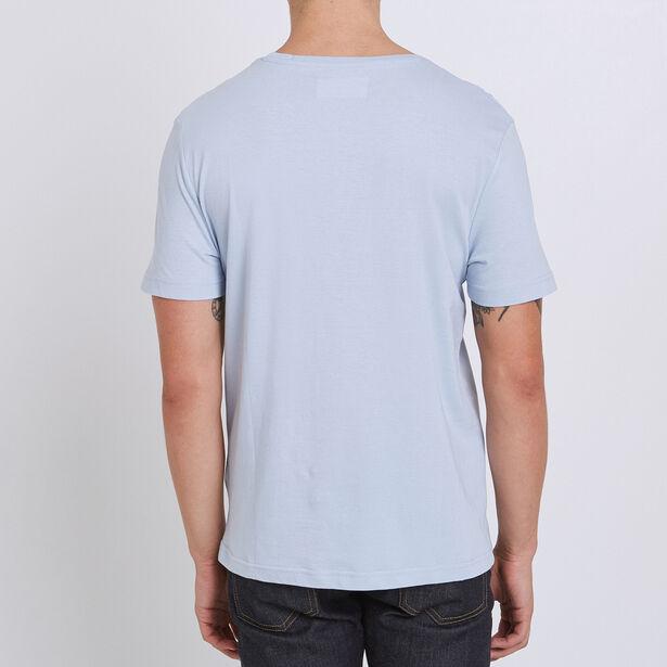 T-shirt met oceaanprint