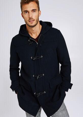 Manteau long style duffle coat