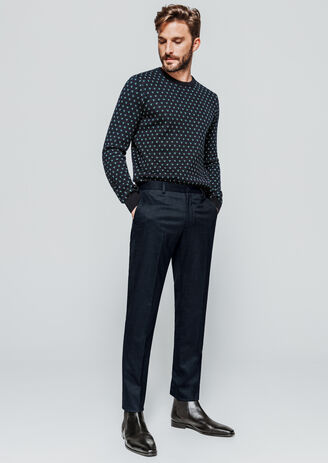 Pantalon de costume extra slim uni
