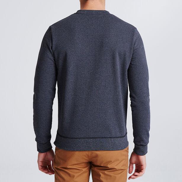 Sweater met ronde hals en geborduurde motieven, Fr