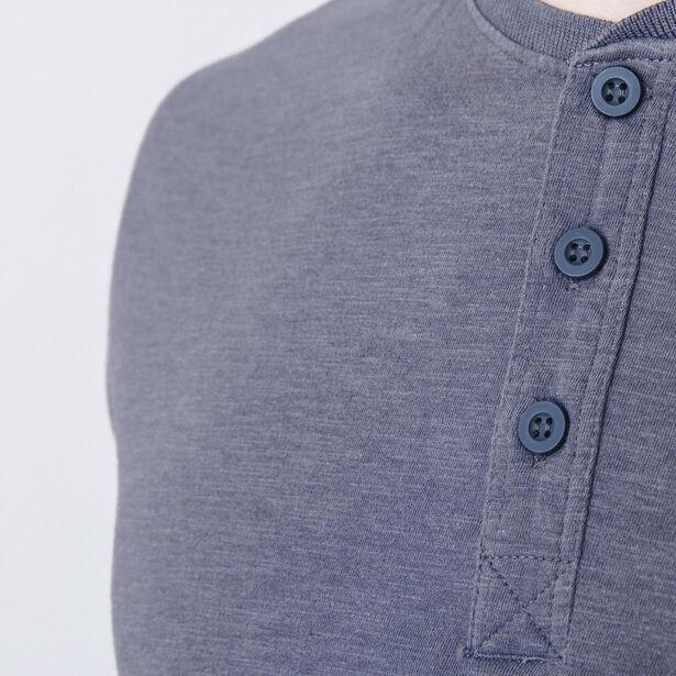 T-shirt encolure boutonnée
