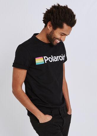 Tee shirt licence Polaroid