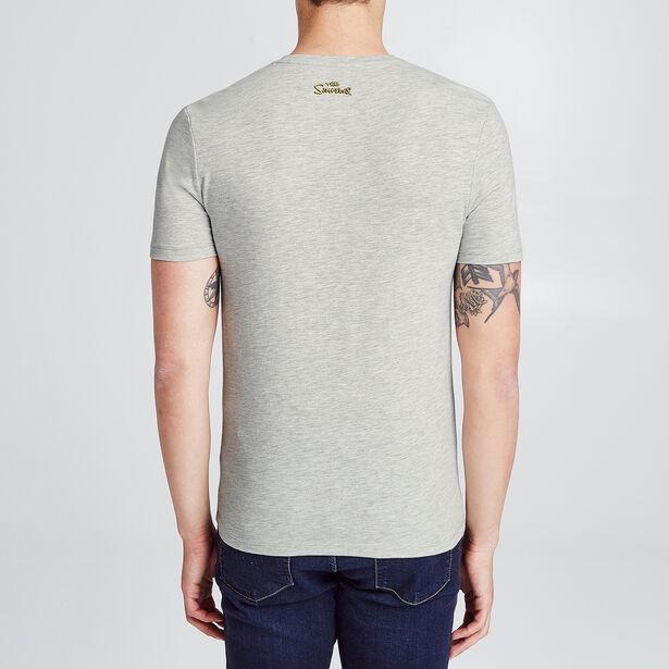 T-shirt onder licentie van The Simpsons met print