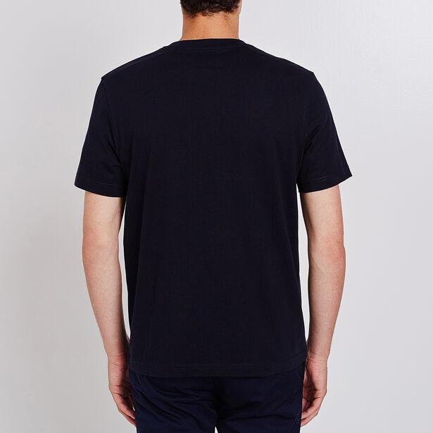 T-shirt collo rotondo con messaggio Trendy & Tasty