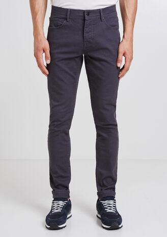 Pantalone slim a 5 tasche