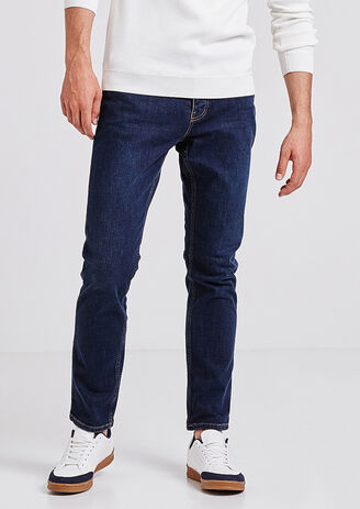Straight jeans 4L, stonewashed