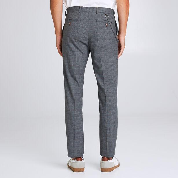 Pantalon de costume coupe slim motif Prince de Gal