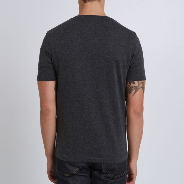 Tee shirt col rond imprimé helsinki