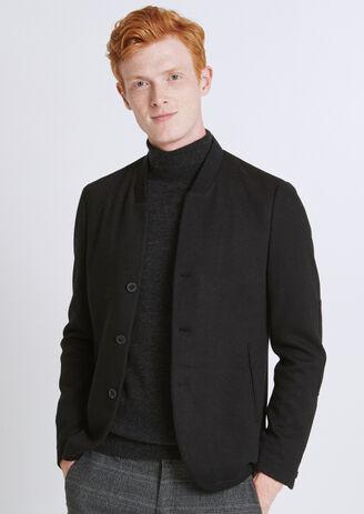 Veste maille avec coudières