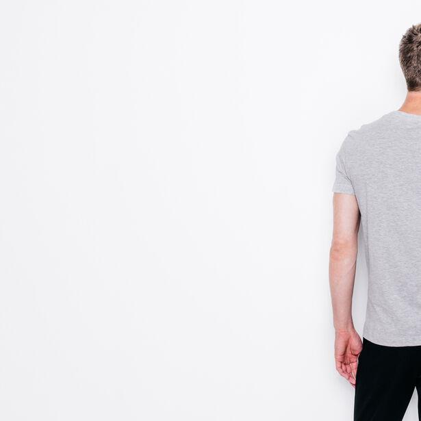 """T-shirt col rond imprimé """"Lets escape"""""""