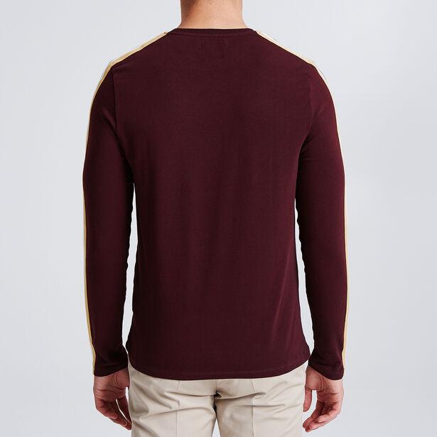 Tee shirt manches longues à bandes manches