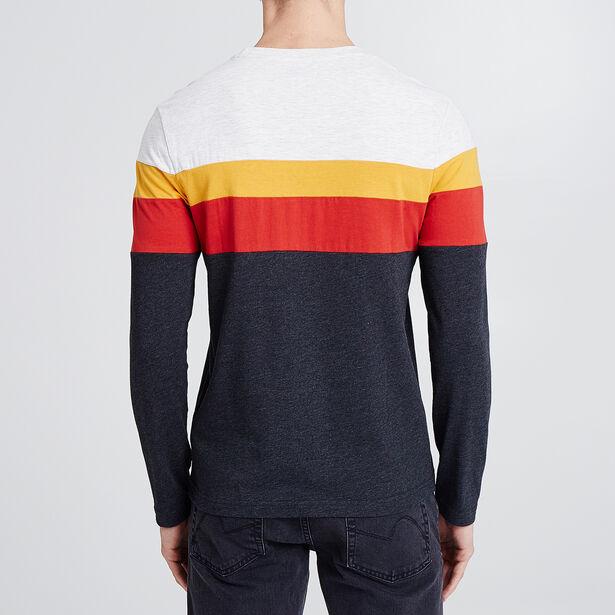 Tee shirt manches longues rainbow