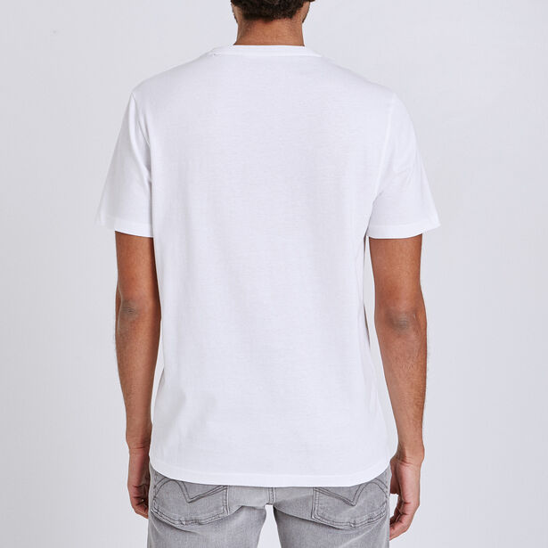 Tee shirt col V imprimé cool life