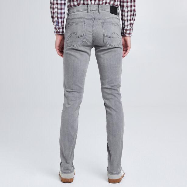 Slim jeans Urbanflex, gewassen grijs