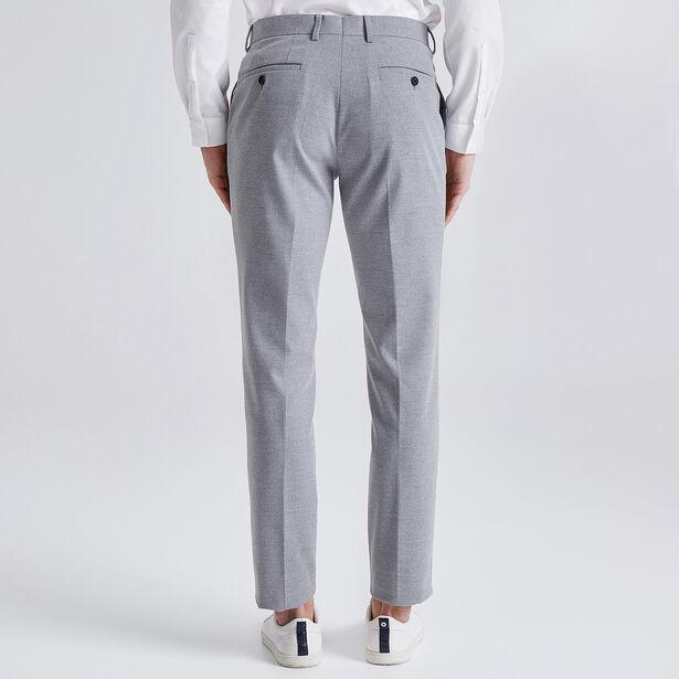 Extraslim flanellen broek