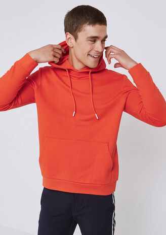 SWEAT HOODIE CAPUCHE message manches