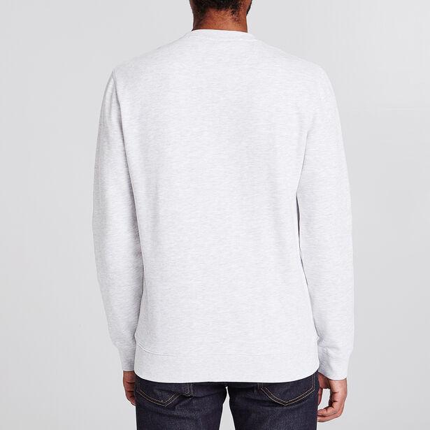 Sweater met motief en bouclé-steek