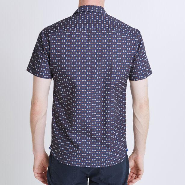 Camicia Regular Stampata Maniche corte