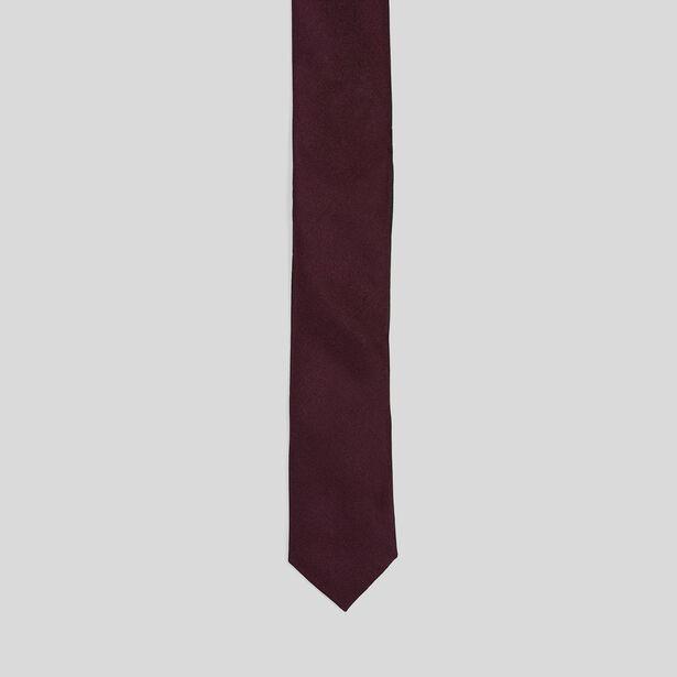 Cravate satin Unie
