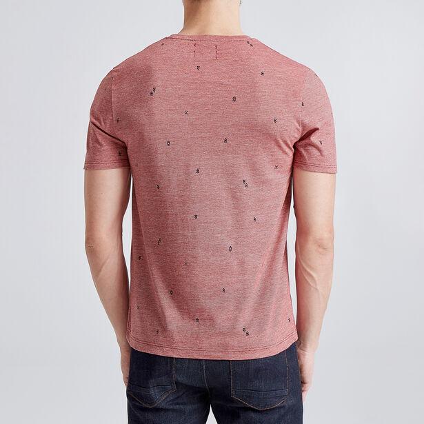 Tee shirt imprimé all over