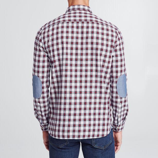 Chemise droite carreaux