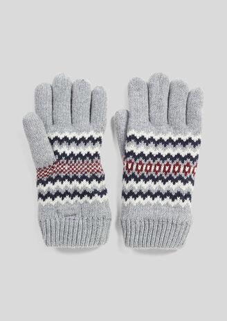 Handschoenen in fantasietricot