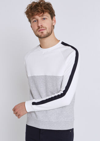 5b3cc1c2f5a7 Sweat colorblock
