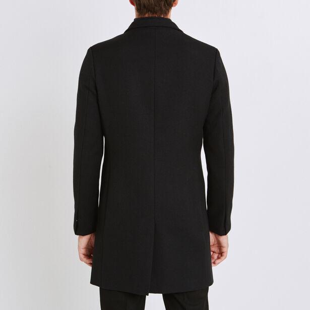 Manteau col asymétrique
