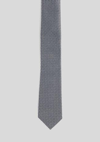 Cravate  100% soie à motifs