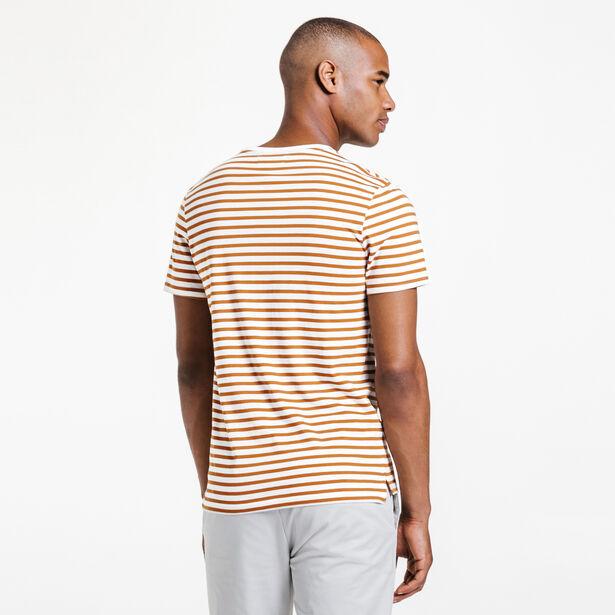 Tee-shirt col rond rayé