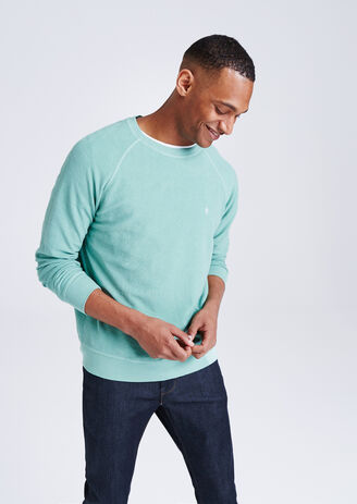 Sweater in piquétricot