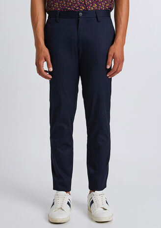 Chino slim twill leger