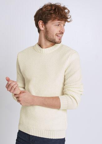 Pull en mélange laine