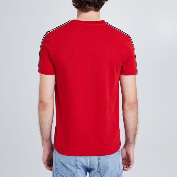 Tee Shirt col rond rayures fantaisies