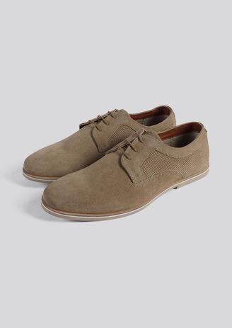 Chaussure Derby suedé