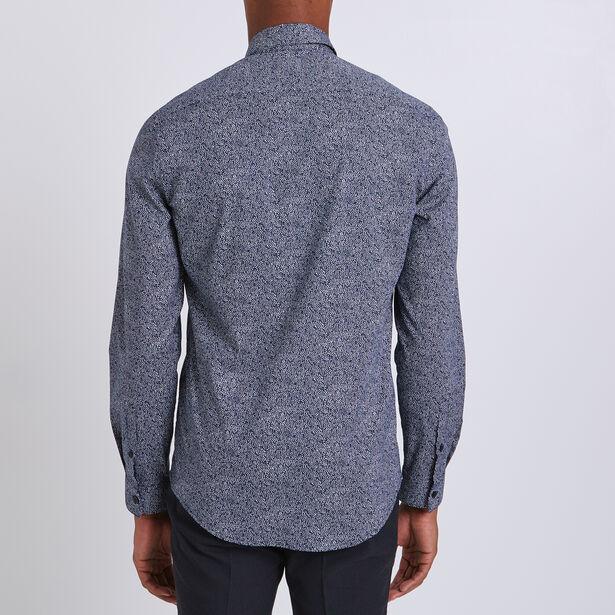 Regular hemd met print