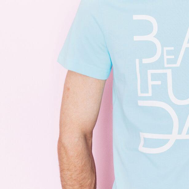 "T-shirt col rond imprimé ""Beautiful Day"""