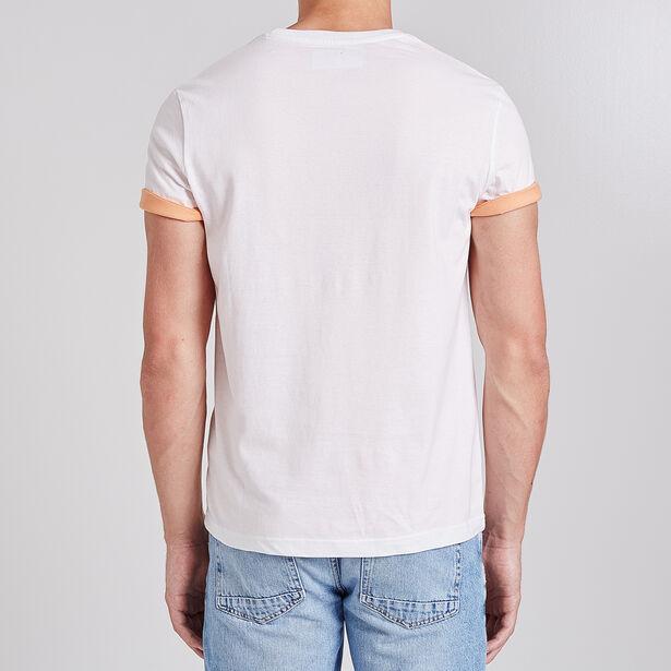 tee shirt imprimé moto