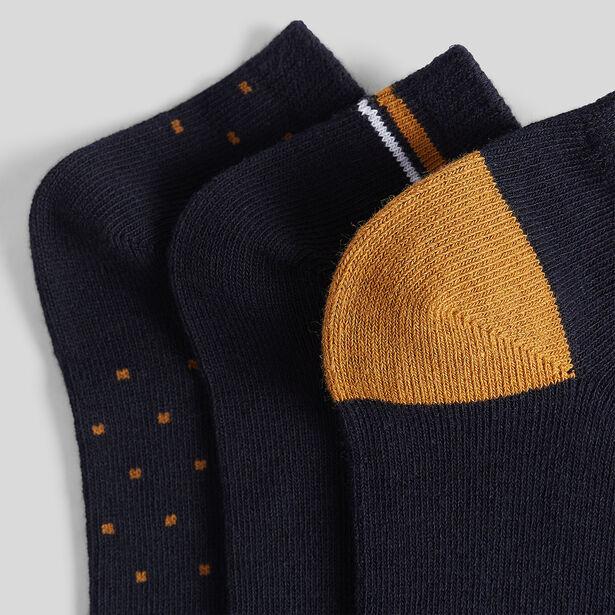 Chaussettes basses par lot de 3