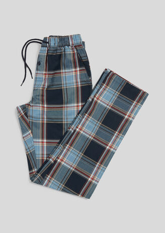 Pantalon de pyjama à carreaux