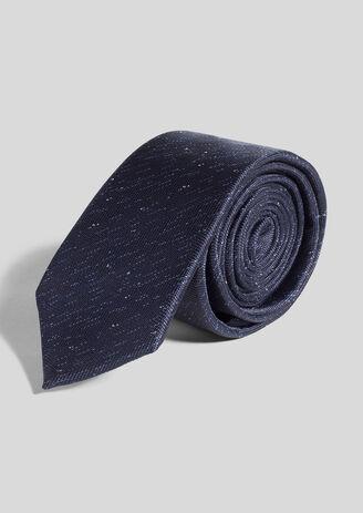 Cravate à micro motif polyester