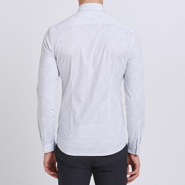 Extraslim hemd met print
