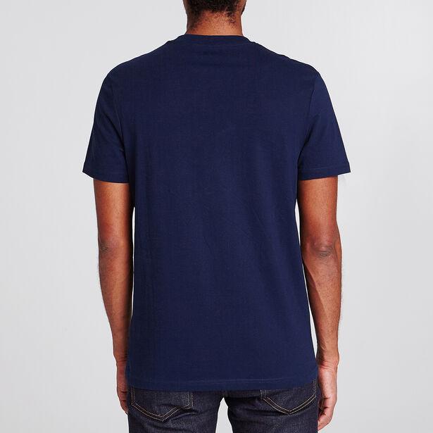 Tee shirt col rond motif Paris
