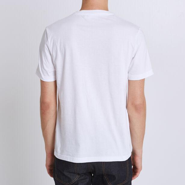 T-shirt met opdruk 'le Style au Sommet', Jules-col